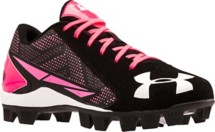 Youth Girls' Under Armour Leadoff Low RM Jr. Softball Cleats