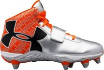 Men's Under Armour C1N Mid D Football Cleats