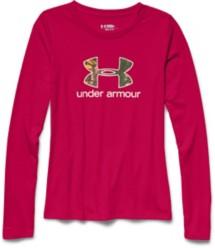 Women's Under Armour Camo Logo Long Sleeve Shirt