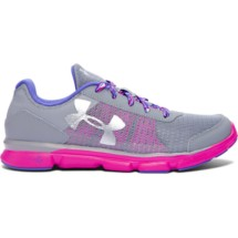 Youth Girls' Under Armour Micro G Speed Swift Running Shoes