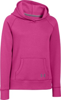 Youth Girls' Under Armour Rival Cotton Solid Hoodie