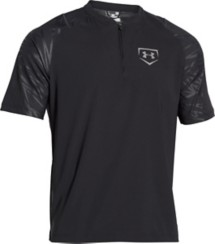 Men's Under Armour 9 Strong Cage 1/4 Zip Short Sleeve Jacket