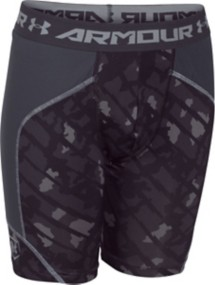 Youth Boys' Under Armour Spacer Printed Slider Short
