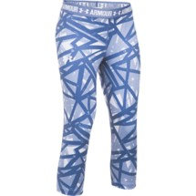 Youth Girls' Under Armour HeatGear ARMOUR Printed Capri
