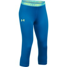 Youth Girls' Under Armour HeatGear ARMOUR Solid Capri