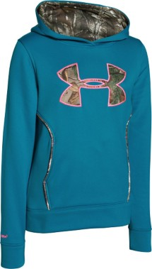 Youth Girls' Under Armour Caliber Hoodie