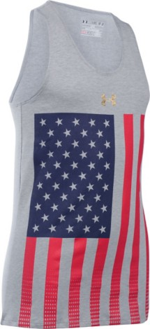 Youth Girls' Under Armour USA Pride Tank