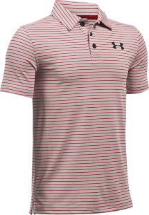 Youth Boys' Under Armour Composite Stripe Polo