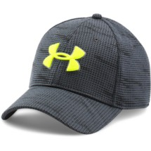 Men's Under Armour Printed Blitzing Stretch Fit Cap