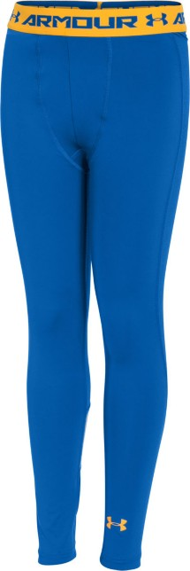Youth Boys' Under Armour HeatGear ARMOUR Up Fitted Leggings