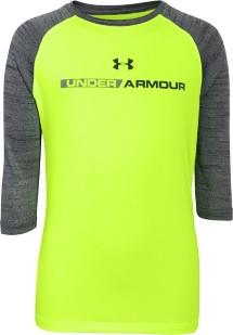 Youth Boys' Under Armour Tech 3/4 Sleeve Shirt