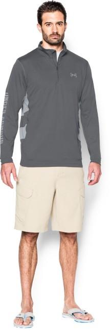 Men's Under Armour Fish Hunter Tech Long Sleeve 1/4 Zip