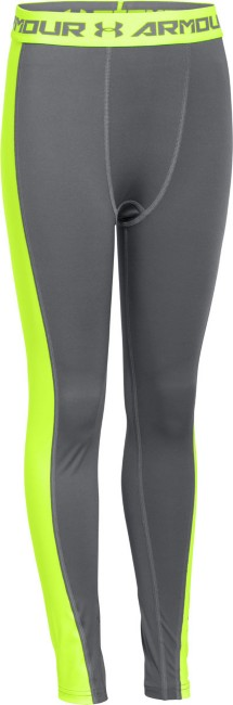 Youth Boys' Under Armour HeatGear ARMOUR Up Logo Fitted Leggings