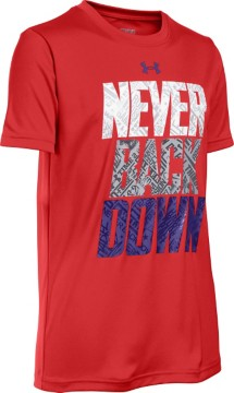 Youth Boys' Under Armour Never Back Down T-Shirt