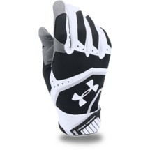 Men's Under Armour Cage Baseball Batting Gloves