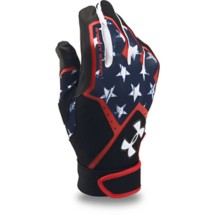 Men's Under Armour Clean Up Baseball Batting Gloves