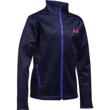 Youth Girls' Under Armour ColdGear Infrared Softershell Jacket