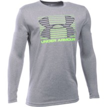 Youth Boys' Under Armour Breakthrough Logo Long Sleeve Shirt
