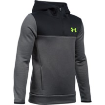Youth Boys' Under Armour Storm ARMOUR Fleece 1/4 Zip Hoodie