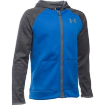 Youth Boys' Under Armour Storm ARMOUR Fleece Full Zip Hoodie