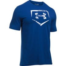 Men's Under Armour Baseball Plate Logo T-Shirt