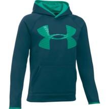 Youth Boys' Under Armour Storm ARMOUR Fleece Highlight Big Logo Hoodie