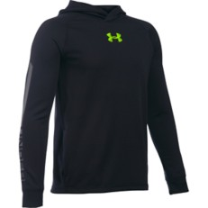 Youth Boys' Under Armour Waffle Long Sleeve Hoodie