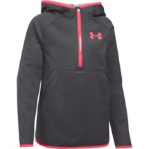 Youth Girls' Under Armour ARMOUR Fleeece 1/2 Zip Hoodie
