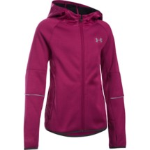 Youth Girls' Under Armour Full Zip Swacket