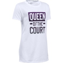 Youth Girls' Under Armour Queen Of The Court T-Shirt