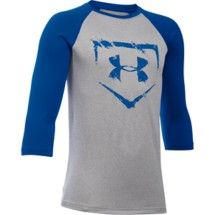 Youth Boys' Under Armour Baseball 3/4 Sleeve Shirt