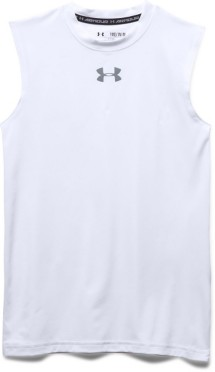 Youth Boys' Under Armour HeatGear ARMOUR Sleeveless