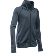 Youth Girls' Under Armour Rival Full Zip Jacket