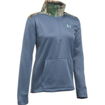 Women's Under Armour Power In Pink Icon Caliber 1/2 Zip