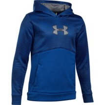 Youth Boys' Under Armour Storm Armour® Fleece Mid Logo Hoodie