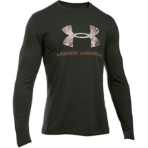 Men's Under Armour Camo Logo Long Sleeve Shirt