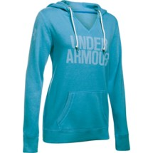Women's Under Armour Favorite Fleece Popover Word Mark Hoodie