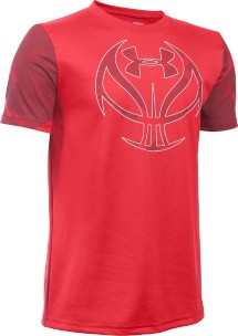 Youth Boys' Under Armour Novelty Basketball Icon T-Shirt