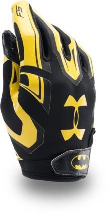 Youth Boys' Under Armour Alter Ego Batman F5 Football Glove