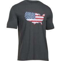Men's Under Armour UA Freedom USA Flag T-Shirt