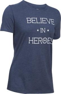Women's Under Armour Believe In Heroes T-Shirt