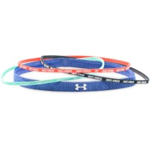 Women's Under Armour Wordmark Headbands - 4 Pack Headwear