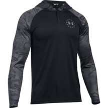 Men's Under Armour Freedom Tech Popover Long Sleeve Hoodie