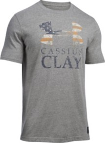 Men's Under Armour X Muhammad Ali Cassius Sportstyle T-Shirt