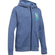 Youth Girls' Under Armour Favorite Full Zip Hoodie
