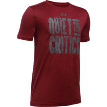 Youth Boys' Under Armour Quiet The Critics T-Shirt
