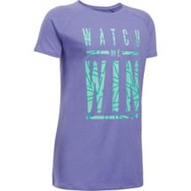 Youth Girls' Under Armour Watch Me T-Shirt