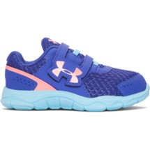 Infant Girls' Under Armour Engage 3 Adjustable Closure Running Shoe