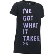 Youth Girls' Under Armour Got What It Takes T-Shirt