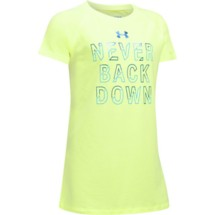 Youth Girls' Under Armour Never Back Down T-Shirt